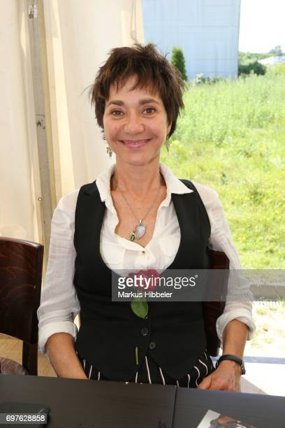 Anja Franke poses during the celebration of 2500 episodes of 'Rote Rosen' on June 18 2017 in Lueneburg Germany