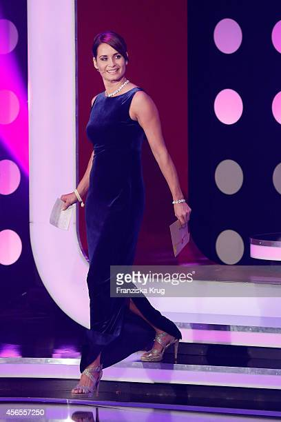 Anja Kling attends the Deutscher Fernsehpreis 2014 show on October 02 2014 in Cologne Germany