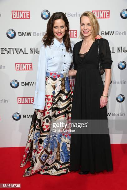 Anja Knauer and Simone Hanselmann during the BUNTE BMW Festival Night during the 67th Berlinale International Film Festival Berlin at restaurant...
