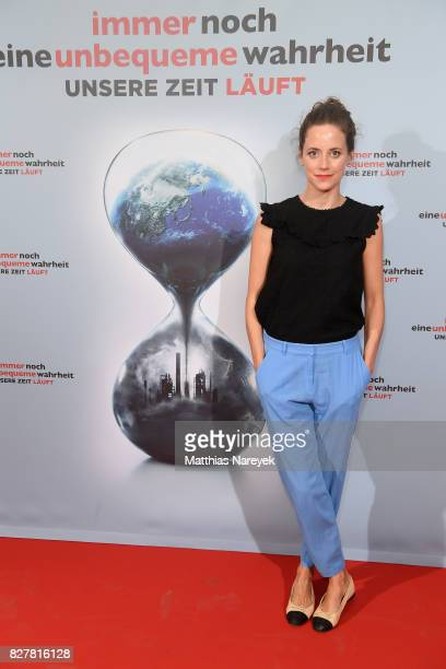 Anja Knauer attends a special screening of 'An Inconvenient Sequel Truth to Power' at Zoo Palast on August 8 2017 in Berlin Germany