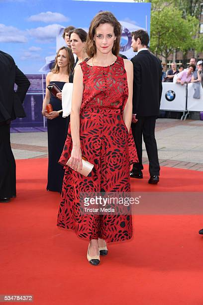 Anja Knauer attends the Lola German Film Award 2016 Red Carpet Arrivals on May 27 2016 in Berlin Germany
