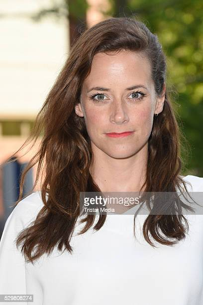 Anja Knauer attends the 'Maengelexemplar' German Premiere on May 09 2016 in Berlin Germany