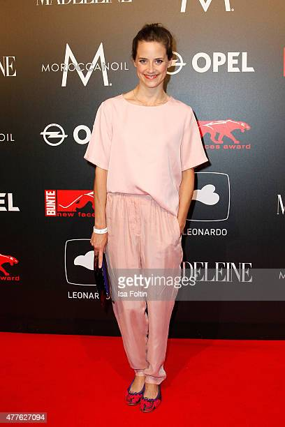 Anja Knauer attends the New Faces Award Film 2015 at ewerk on June 18 2015 in Berlin Germany