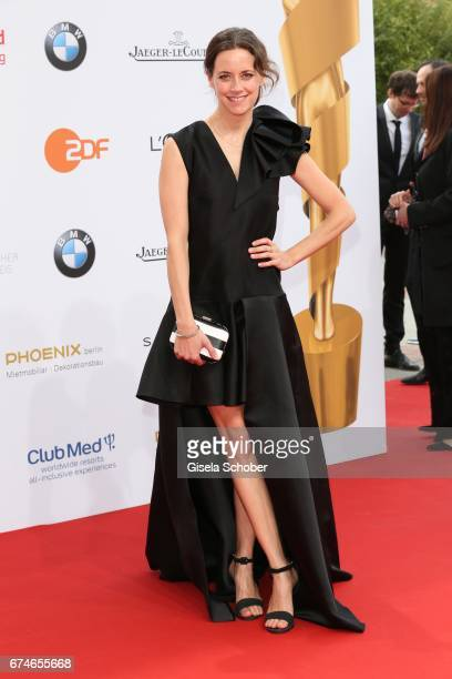 Anja Knauer during the Lola German Film Award red carpet arrivals at Messe Berlin on April 28 2017 in Berlin Germany