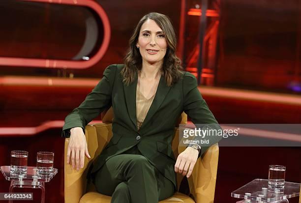 Anja Kohl in der ARDTalkshow GÜNTHER JAUCH am in BerlinThema der Sendung Showdown im Schuldenstreit Ð Was wird aus Griechenland
