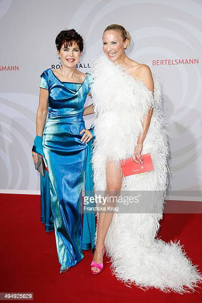 Anja Kruse and Nadja Michael attend the Rosenball 2014 on May 31 2014 in Berlin Germany