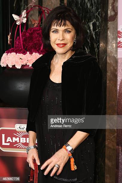 Anja Kruse arrives for the Lambertz Monday Night 2015 at Alter Wartesaal on February 2 2015 in Cologne Germany