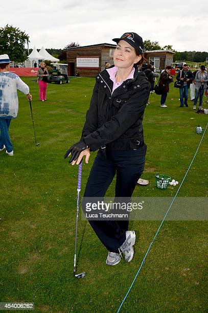 Anja Kruse attend the 7th GRK Golf Charity Masters Leipzig on August 23 2014 in Leipzig Germany
