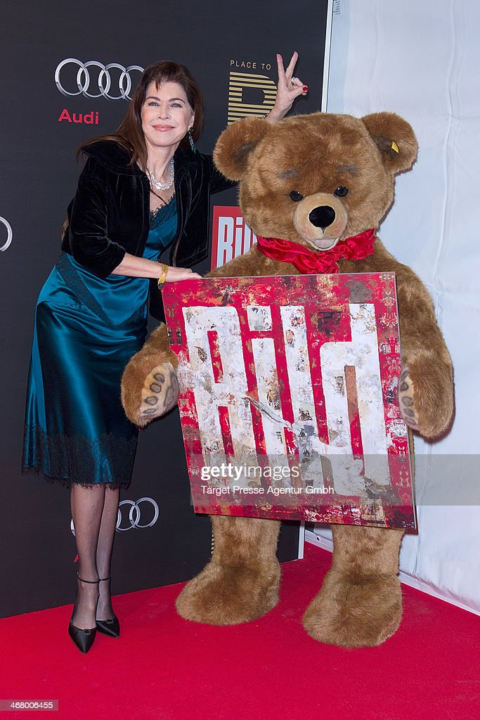 Anja Kruse attends the BILD 'Place to B' Party at Grill Royal on February 8, 2014 in Berlin, Germany.