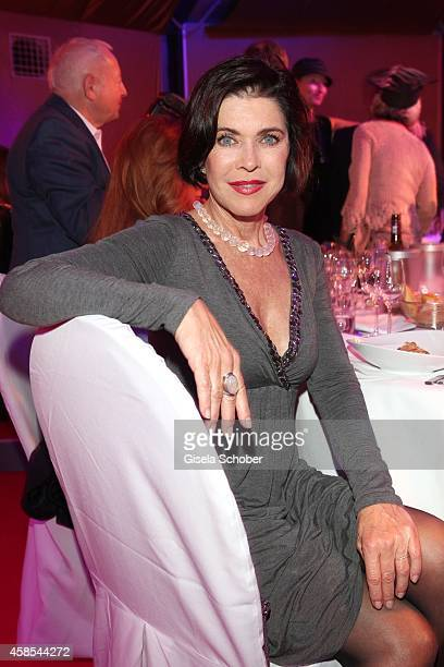 Anja Kruse attends the Cotton Club Dinnershow Premiere at Ungerer Bad on November 6 2014 in Munich Germany