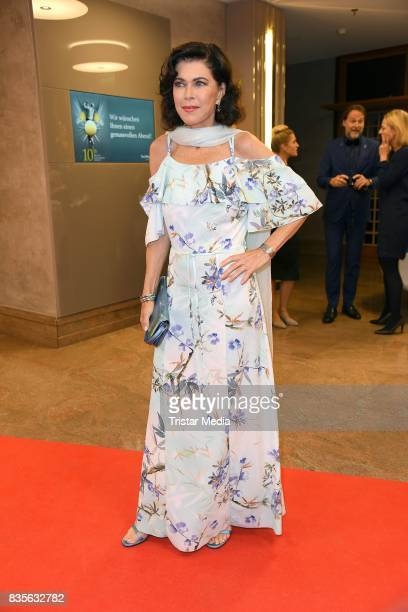 Anja Kruse attends the GRK Golf Charity Masters evening gala on August 19 2017 in Leipzig Germany