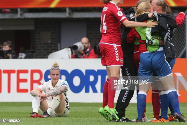 Anja Mittag of Germany women during the UEFA WEURO 2017 quarter finale match between Germany and Denmark at the Sparta stadium Het Kasteel on July 30...