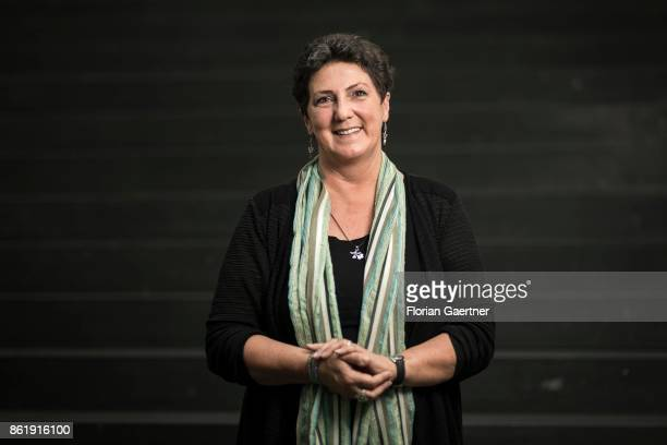 Anja Piel Member of the Landtag of Lower Saxony Alliance 90/The Greens poses for a photo on October 16 2017 in Berlin Germany