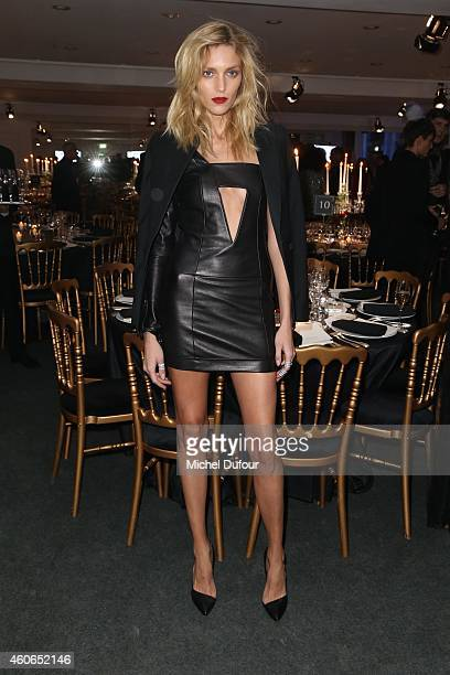 Anja Rubik attends the Annual Charity Dinner Hosted By The AEM Association Children Of The World For Rwanda At Espace Pierre Cardin In Paris at...