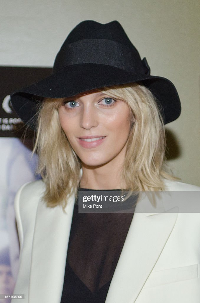 Anja Rubik attends the 'Any Day Now' premiere at Sunshine Landmark on December 3, 2012 in New York City.