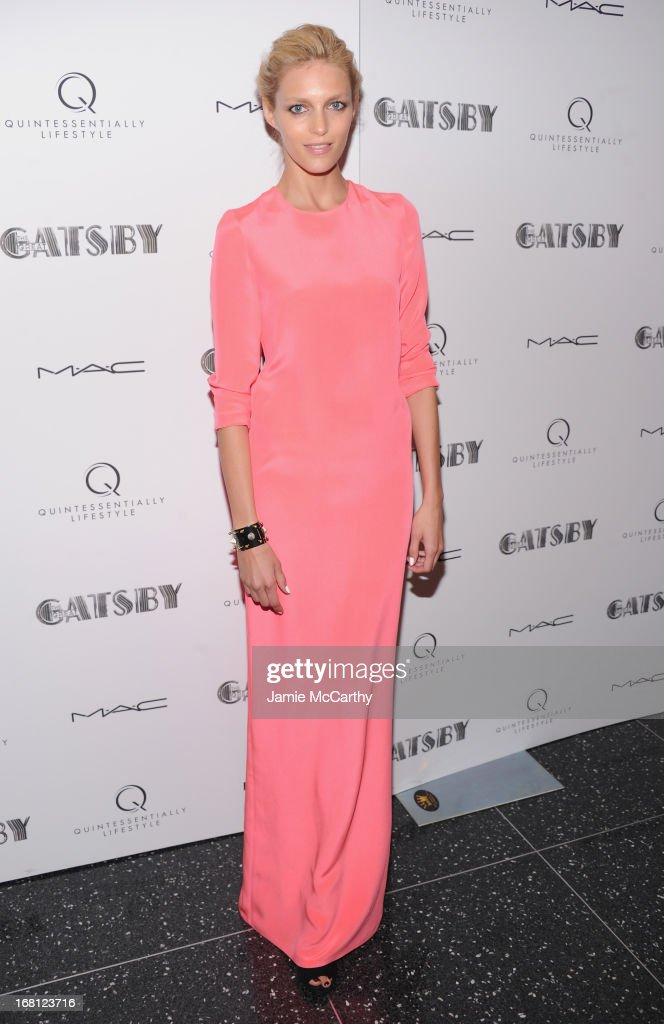 Anja Rubik attends 'The Great Gatsby' Special Screening at the Museum of Modern Art on May 5, 2013 in New York City.