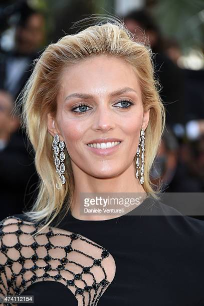 Anja Rubik attends the 'Youth' Premiere during the 68th annual Cannes Film Festival on May 20 2015 in Cannes France