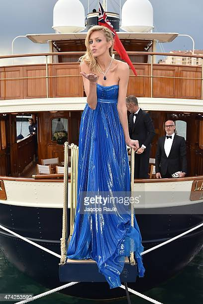 Anja Rubik is seen on day 9 of the 68th annual Cannes Film Festival on May 21 2015 in Cannes France
