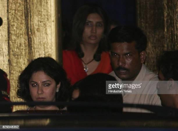 Anjali Sachin Tendulkar wife of Sachin Tenduslkar at the wedding of Aishwarya and Abhishek Bachchan