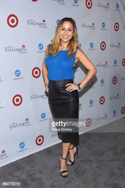 Anjelah Johnson attends the Eva Longoria Foundation Annual Dinner at Four Seasons Hotel Los Angeles at Beverly Hills on October 12 2017 in Los...