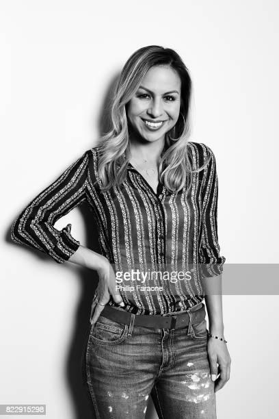 Anjelah Johnson Portrait Session on July 25 2017 in Los Angeles California