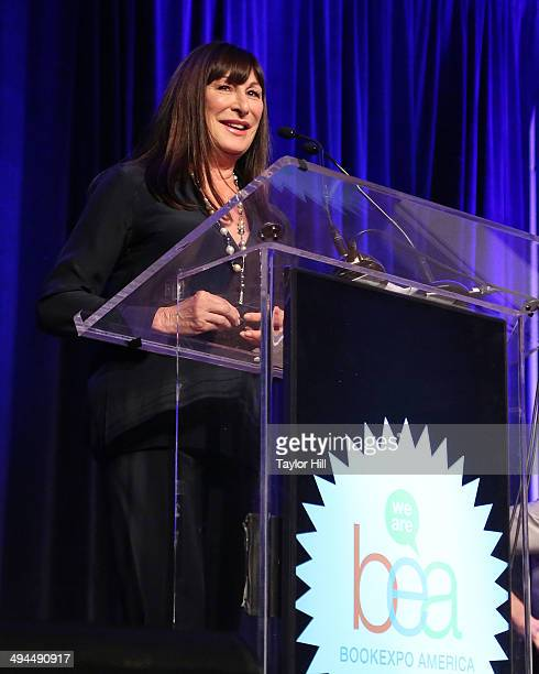 Anjelica Huston attends day 1 of the 2014 Bookexpo America at The Jacob K Javits Convention Center on May 29 2014 in New York City