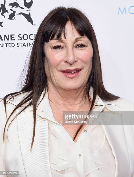 Anjelica Huston attends the 2015 To The Rescue New York Gala at Cipriani 42nd Street on November 13 2015 in New York City