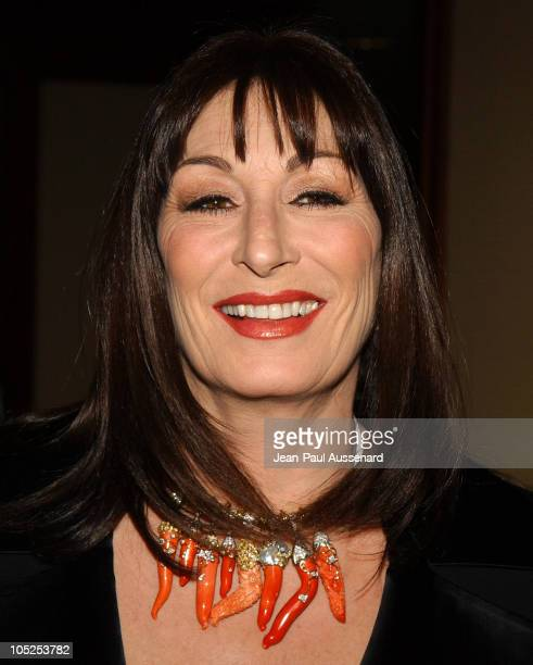 Anjelica Huston during 56th Annual Directors Guild of America Awards Arrivals at Century Plaza Hotel in Century City California United States