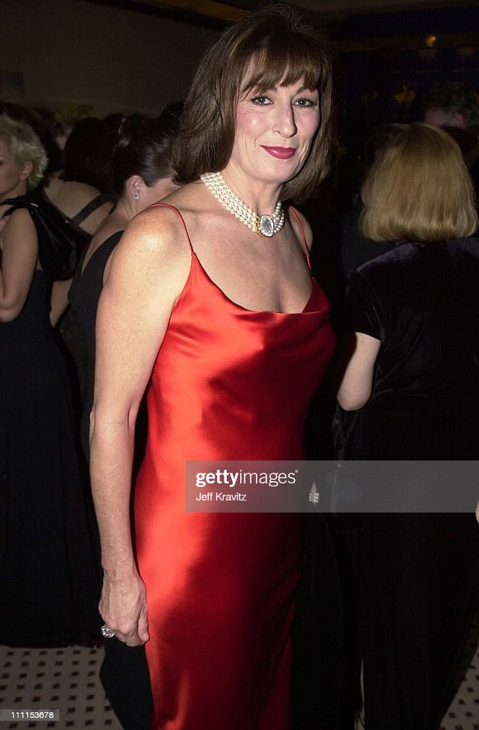 Anjelica Huston during Carousel Ball in Beverly Hills, California, United States.