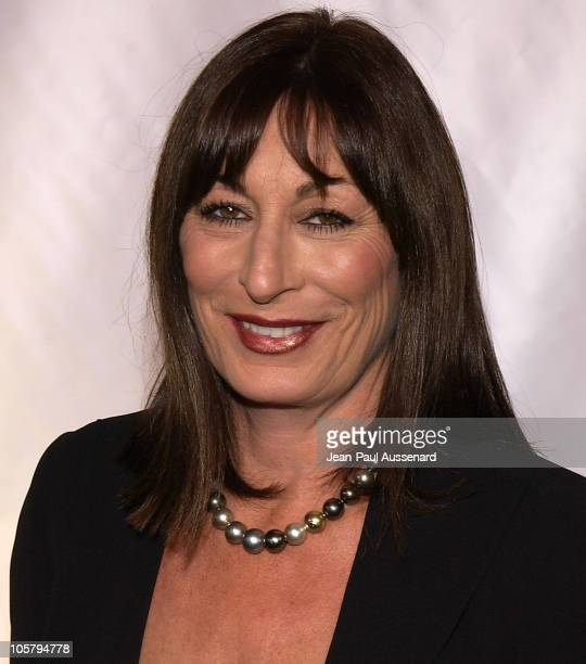 Anjelica Huston during Giorgio Armani Receives First 'Rodeo Drive Walk Of Style' Award at Rodeo Drive in Beverly Hills California United States