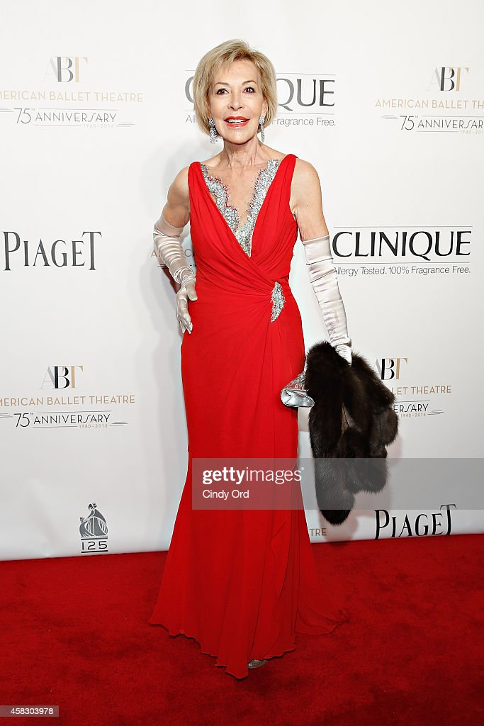 Anka Palitz attends the American Ballet Theatre 2014 Opening Night Fall Gala at David H Koch Theater at Lincoln Center on October 22 2014 in New York...