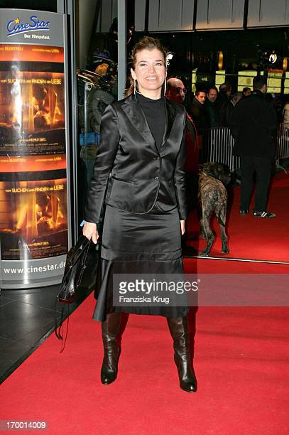Anke Engelke at The Premiere 'From Search And Find The Love' in Cinestar at Potsdamer Platz in Berlin 240105