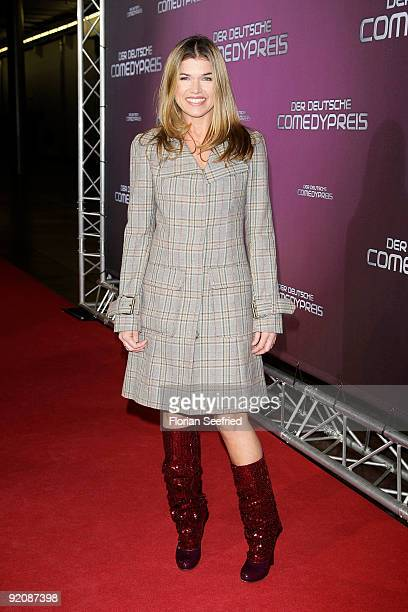 Anke Engelke attends the German Comedy Award 2009 at the Coloneum on October 20 2009 in Cologne Germany