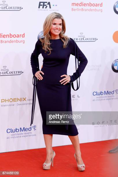 Anke Engelke attends the Lola German Film Award red carpet at Messe Berlin on April 28 2017 in Berlin Germany