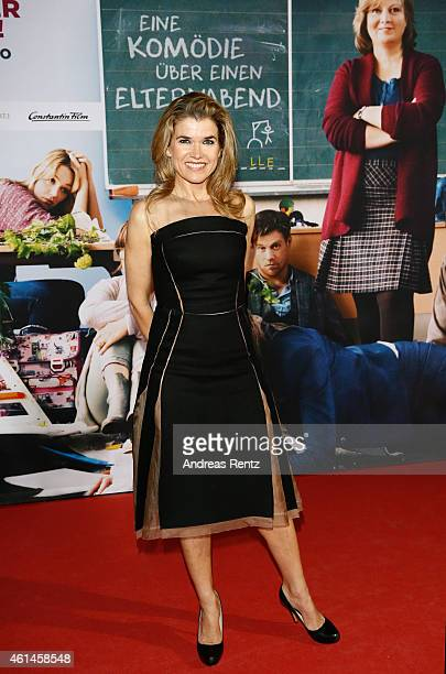 Anke Engelke attends the premiere of the film 'Frau Mueller muss weg' at Cinedom on January 12 2015 in Cologne Germany