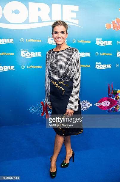 Anke Engelke during the German premiere of the film 'Finding Dory' at Zoo Palast on September 15 2016 in Berlin Germany