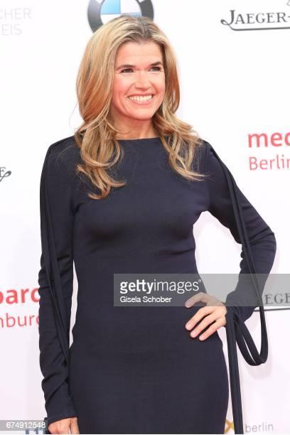 Anke Engelke during the Lola German Film Award red carpet arrivals at Messe Berlin on April 28 2017 in Berlin Germany