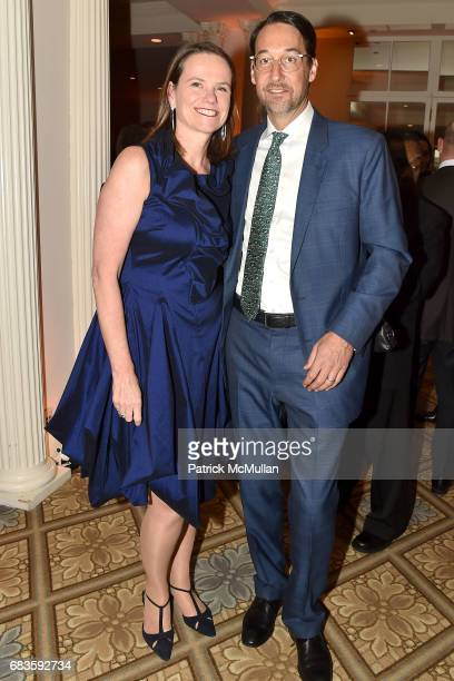 Anke Steinecke and Kevin Boothe attend the 2017 Carnaval Gala Celebrating TrailBlazing Latina Leaders Rita Moreno and Nina Vaca Hosted By Ballet...