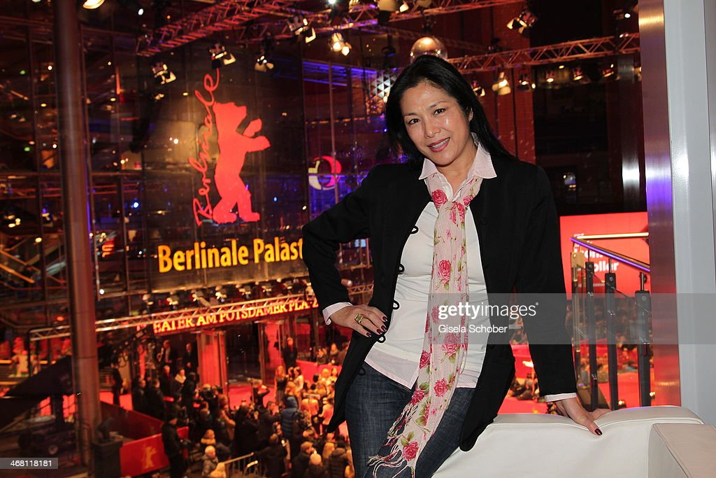Ankie Lau attends the AUDI Lounge at the Marlene Dietrich Platz during day 4 of the Berlinale International Film Festival on on February 9, 2014 in Berlin, Germany.