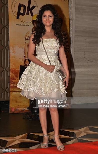 Ankita Lokhande at the success party of the movie PK in Mumbai