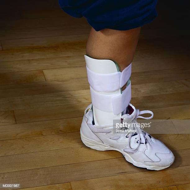 Ankle Brace on Ankle