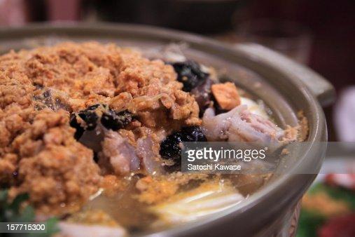 Ankou Nabe (Monkfish Hot Pot)
