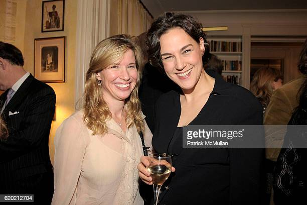 Ann Bass and Angela Cason attend TINA BROWN VICKY WARD and LA MER host a party honoring SUSAN NAGEL'S new book 'Marie Therese' at Tina Brown and...