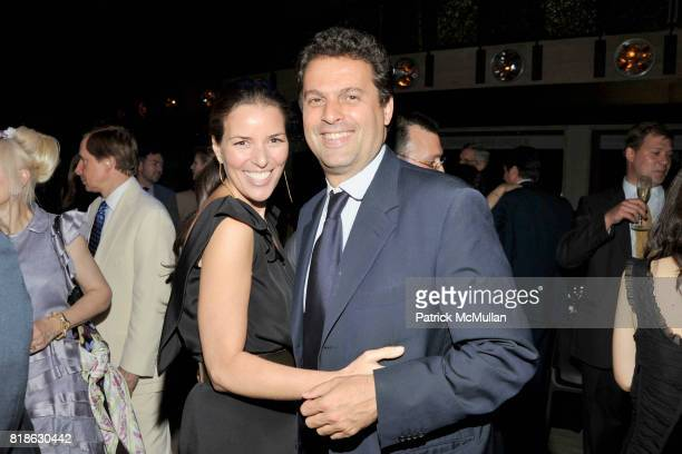 Ann Caruso and Karim Gabez attend NEW YORK CITY BALLET'S Dance with the Dancers Benefit at David H Koch Theater Lincoln Center on June 14th 2010 in...