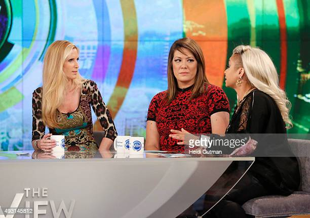 THE VIEW Ann Coulter Alan Alda and Malcolm Jamal Warner are the guests today October 16 2015 on ABC's 'The View' 'The View' airs MondayFriday on the...