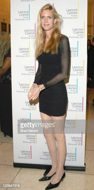 Ann Coulter arrives at Lincoln Center's Winter Gala at Alice Tully Hall in New York