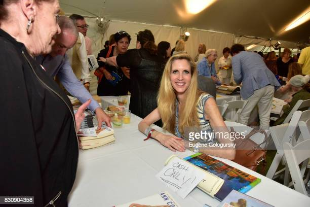 Ann Coulter attends Authors Night 2017 At The East Hampton Library at The East Hampton Library on August 12 2017 in East Hampton New York
