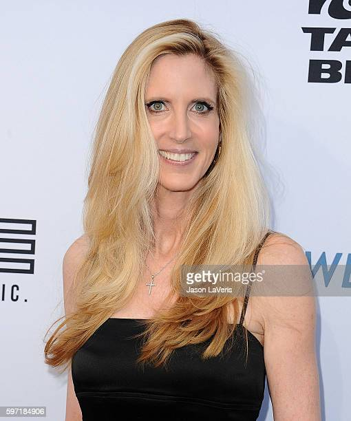 Ann Coulter attends the Comedy Central Roast of Rob Lowe at Sony Studios on August 27 2016 in Los Angeles California