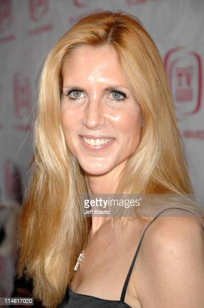 Ann Coulter during 5th Annual TV Land Awards Red Carpet at Barker Hangar in Santa Monica California United States