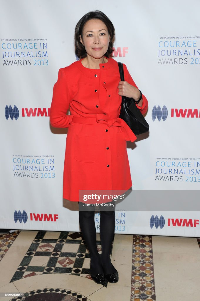<a gi-track='captionPersonalityLinkClicked' href=/galleries/search?phrase=Ann+Curry&family=editorial&specificpeople=215356 ng-click='$event.stopPropagation()'>Ann Curry</a> attend the International Women's Media Foundation's 2013 Courage In Journalism And Lifetime Achievement Awards at Cipriani 42nd Street on October 23, 2013 in New York City.